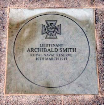 Image of the Captain Smith memorial paving stone
