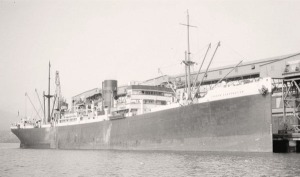 Photo of the ship at dock