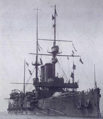 HMS_King_Edward_VII_(1903)_in_early_1907