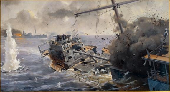SS_Otaki_sinking